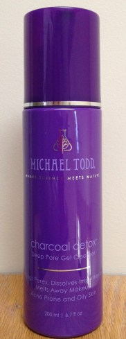 Michael Todd Charcoal Detox Deep Pore Gel Cleanser Review
