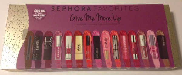 Sephora Favorites Give Me More Lip | Swatches + Review