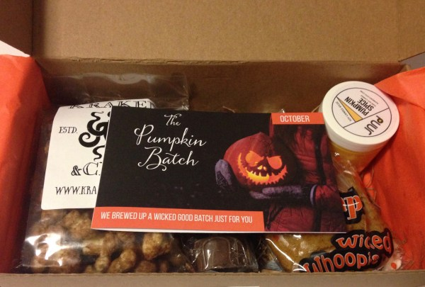 The Pumpkin Batch Unboxing | Wicked Good Pumpkin for October 2015