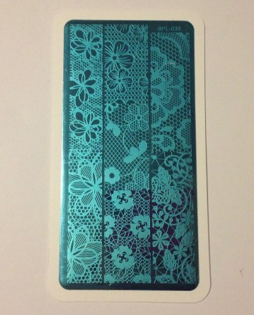 Born Pretty Store – Hollow Lace Stamping Plate