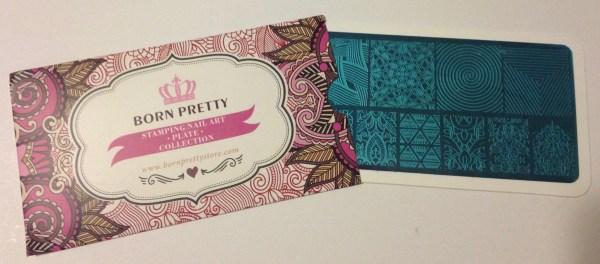 Born Pretty Store – Illusion Theme Stamping Plate