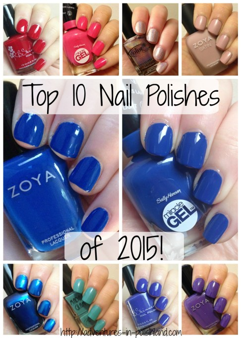 Top 10 Nail Polishes of 2015! | Adventures in Polishland