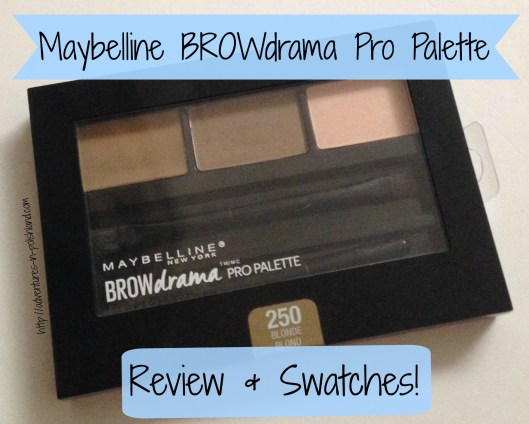 Maybelline BROWdrama Pro Palette | Review & Swatches