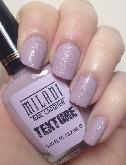 Milani Nail Lacquer Texture in Lovely Lavender