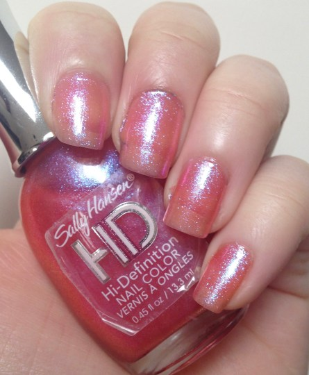Sally Hansen HD Hi-Definition Nail Color in LCD