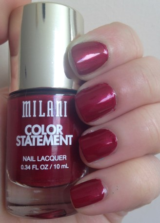 Milani Color Statment Nail Lacquer in Ruby Stone