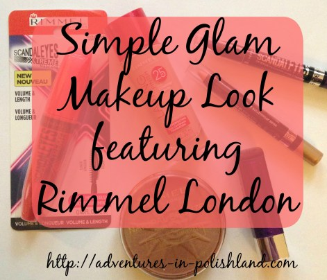 Simple Glam Makeup Look featuring Rimmel London | All Drugstore Products