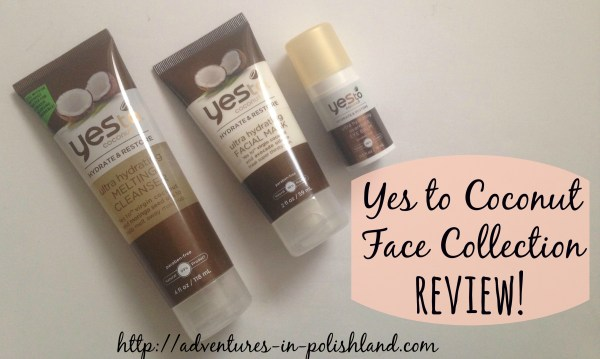 Yes to Coconut Face Collection Review | #YesToBeautyRes