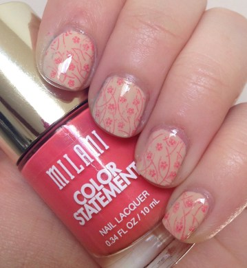 Cherry Blossom Nail Art | Born Pretty Store Stamping Plate