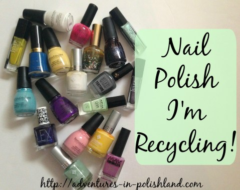 Nail Polish I'm Recycling | Zoya Earth Day Exchange 2016