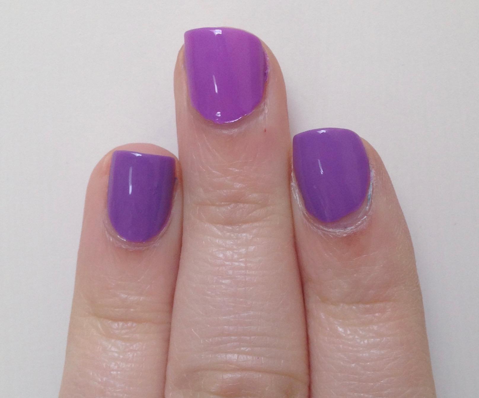 Dare To Compare Milani Imperial Purple Vs Essie Play Date