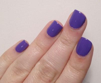 Milani Vivid Violet vs Milani Purple Martin