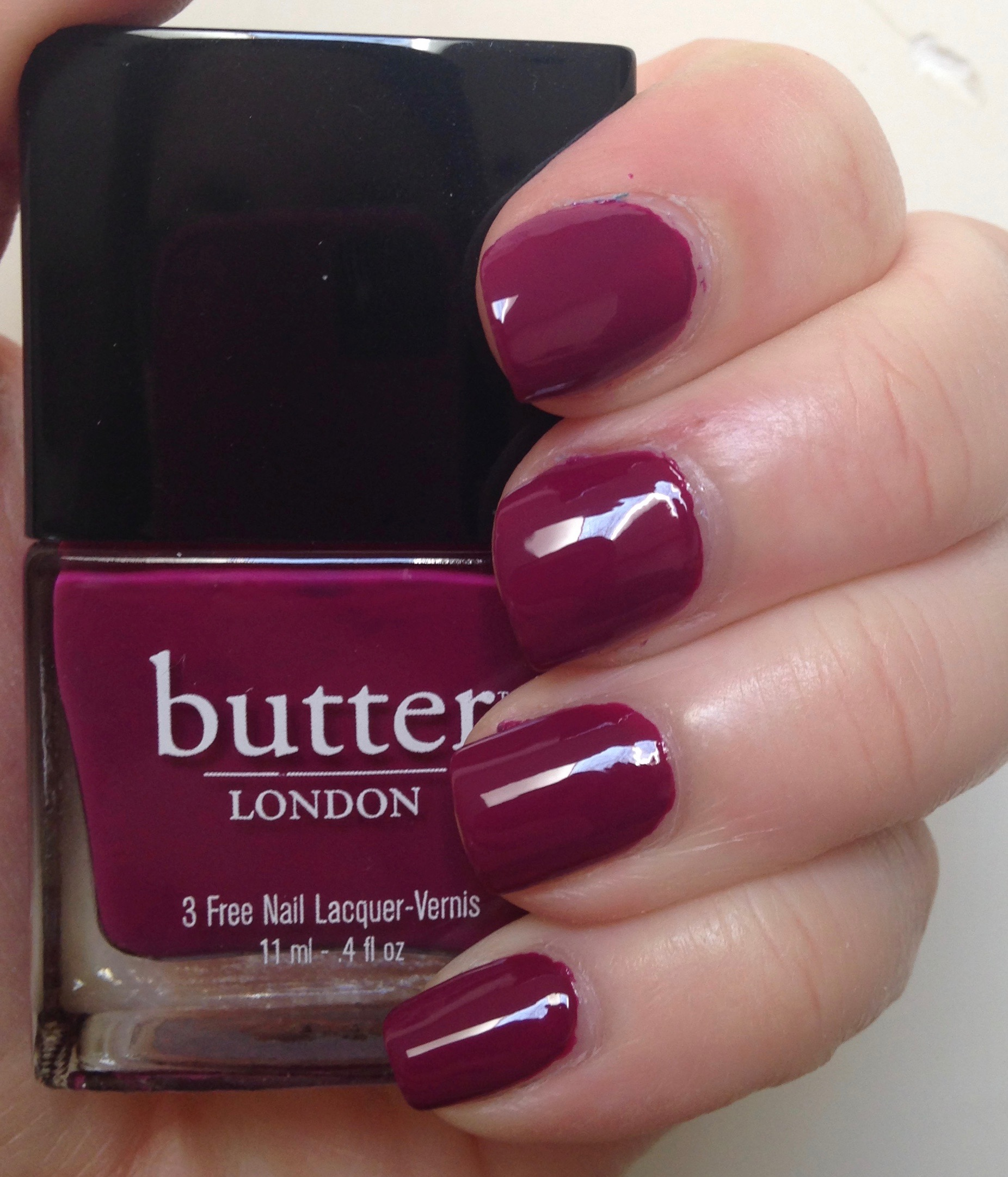 Dare to Compare | Julep Evelyn vs butter LONDON Queen Vic ...