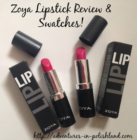 Zoya Hydrating Lipstick Review & Swatches | Mellie & Candy