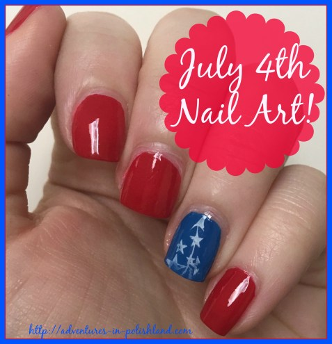 Easy July 4th Nail Art | My Independence Day Manicure