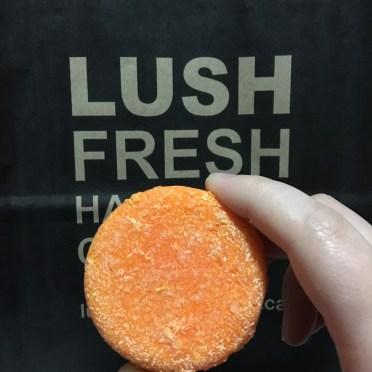LUSH Brazilliant Shampoo Bar