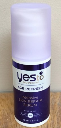 Yes to Blueberries Age Refresh Intensive Skin Repair Serum Review