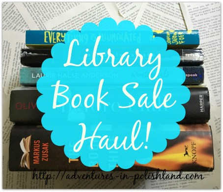 Library Book Sale Haul | 8 Books for $3.50