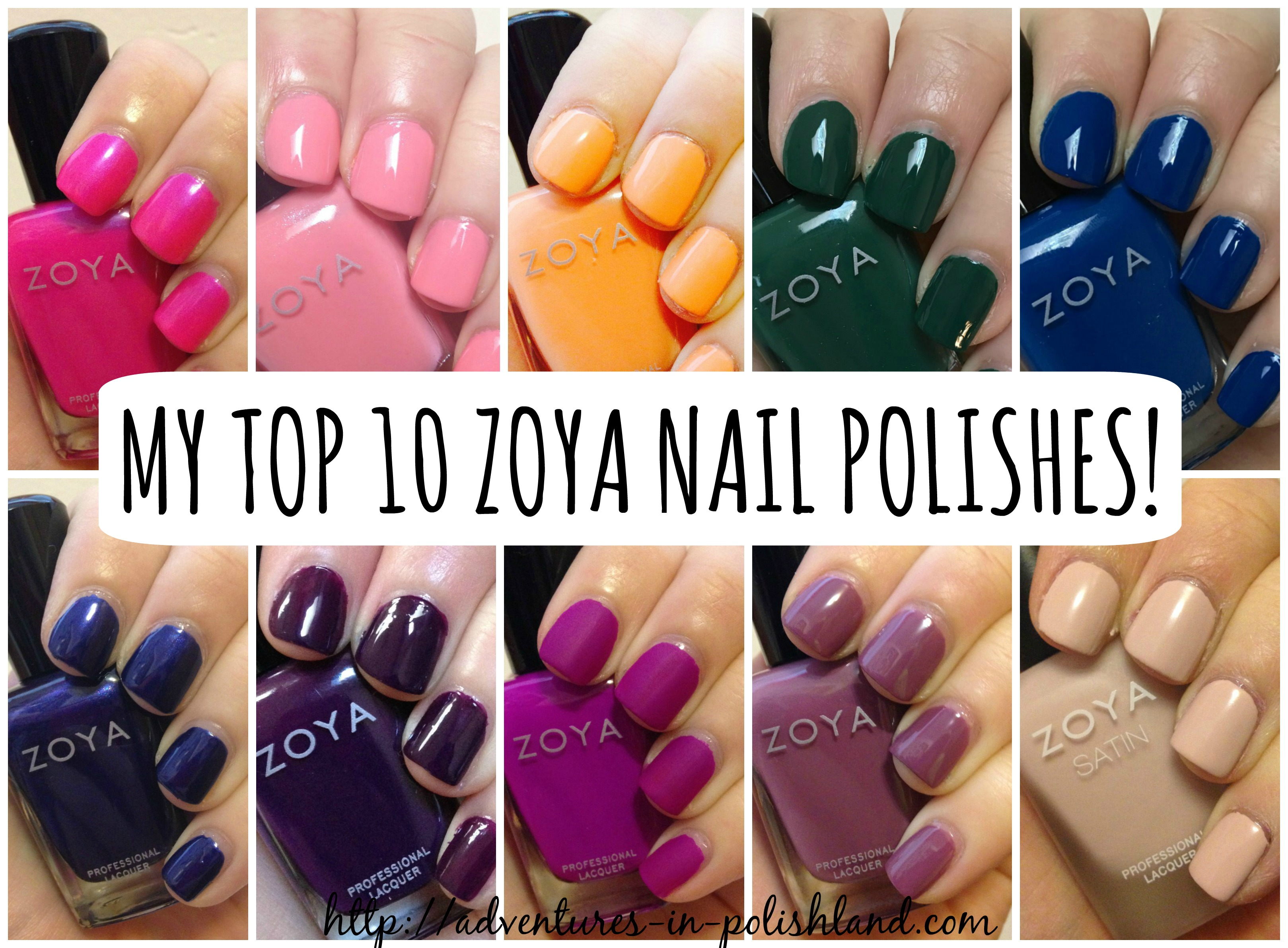 Zoya Nail Polish 70% Off Black Friday Sale | My Top 10 Zoya Nail ...