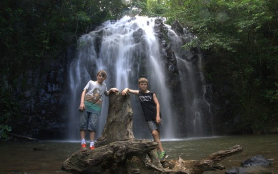 The great waterfall adventure