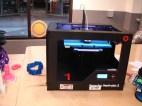 One of two (several?) 3-D printers. I missed taking a picture of the 5 giant laser cutters.