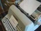 A Cherokee typewritter.