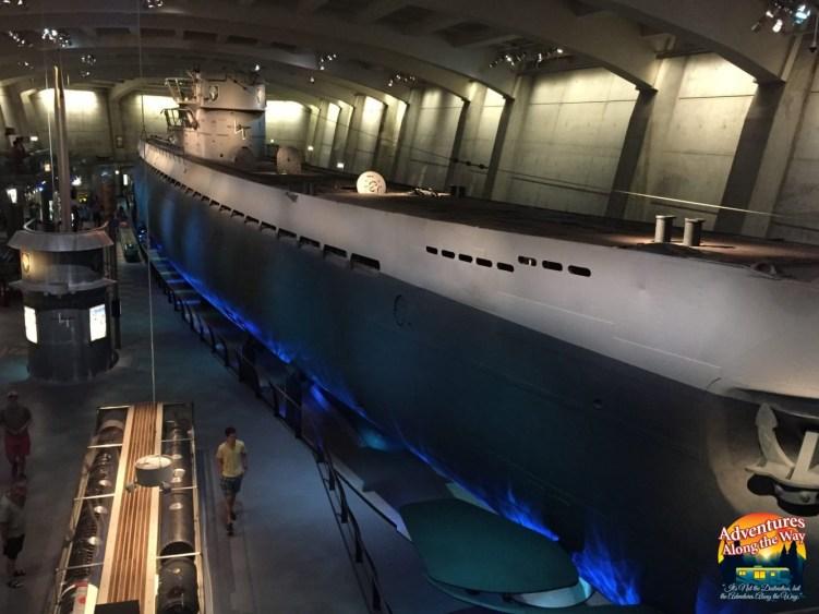 German U-505 Submarine