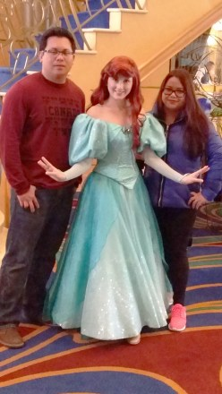 Disney Wonder Alaska Princess Ariel