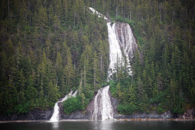 Disney Wonder Alaska Tracy Arm Waterfalls