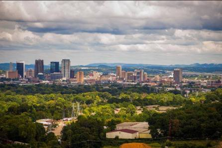 The city of Birmingham, US.