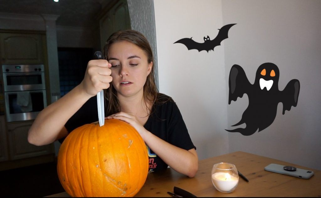 Learn how to carve a pumpkin