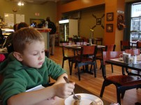 The kid-friendly restaurant ended up being an underwhelming not-so-friendly restaurant.