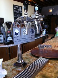 La Colombe--crazy good coffee, but I had to show you their H2O presentation (Chicago, IL)