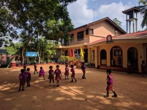 Baddegama Nursery School for poor children