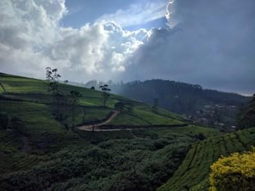 In de bergen van Sri Lanka regent het steeds 's middags. Deze foto is dan ook getrokken... rond de middag