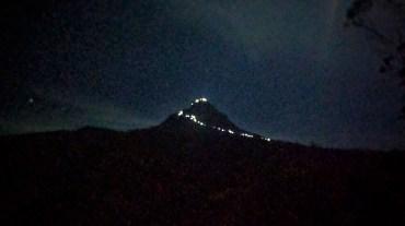 Derde stop: de pelgrimstocht naar Adam's peak of Sri Padaya