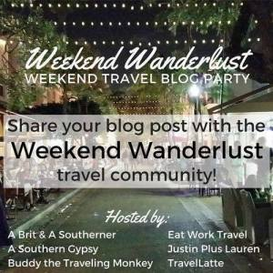 weekend wanderlust