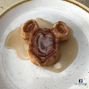 Mickey mouse waffle