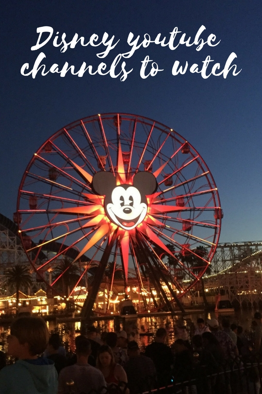 Planning your trip to a Disney resort? What Disney youtube channels should you be watching on youtube? We love Disney in our house, ever since we took our oldest two to Disneyland7 years ago it seems like we have two moods in our house. 1 - We are at a Di