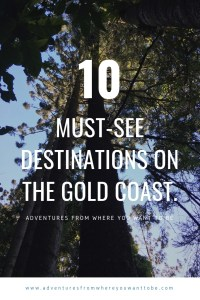 Top ten things to do on the Gold Coast
