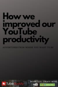 Find out how we got more views in less time on Youtube. Giving us more time to create quality content.