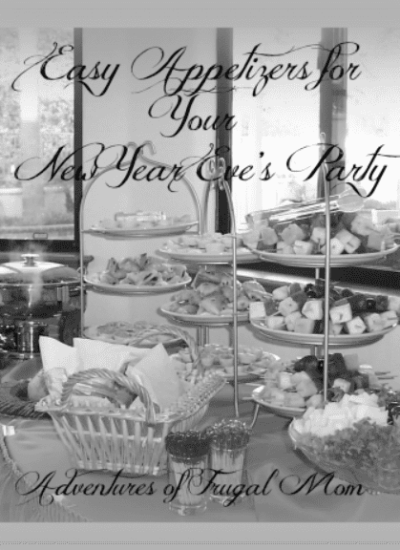 Easy Appetizers for Your New Year Eve's Party