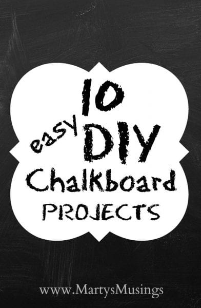 10 Chalkboard Paint Ideas for the Home - HMLP 52 Feature