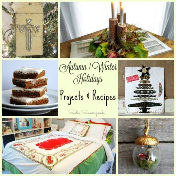 Autumn - Winter Holiday Projects and Recipes - HMLP 64 Feature