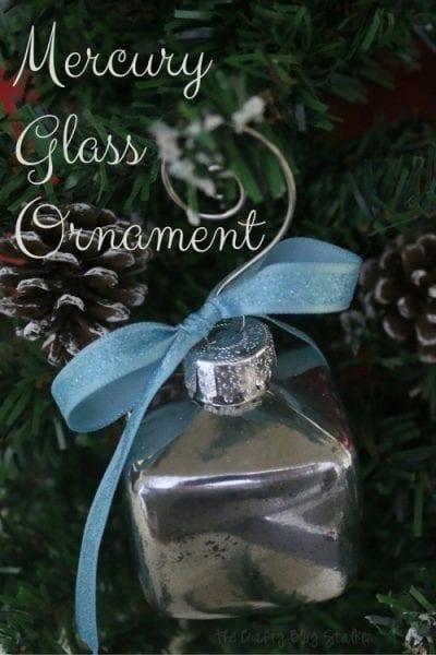 Mercury Glass Ornament - HMLP 64 Feature