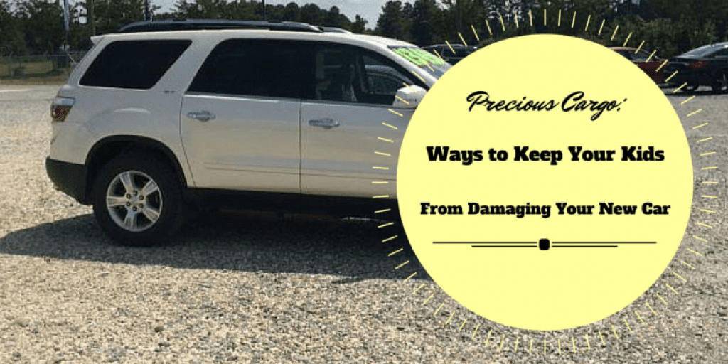 Precious Cargo; Ways to Keep Your Kids From Damaging Your New Car