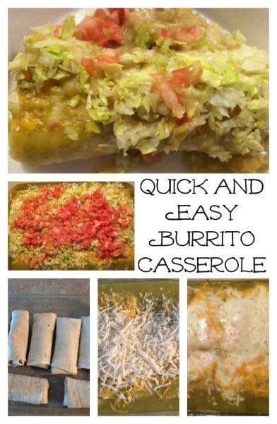 quick and easy Burrito Casserole
