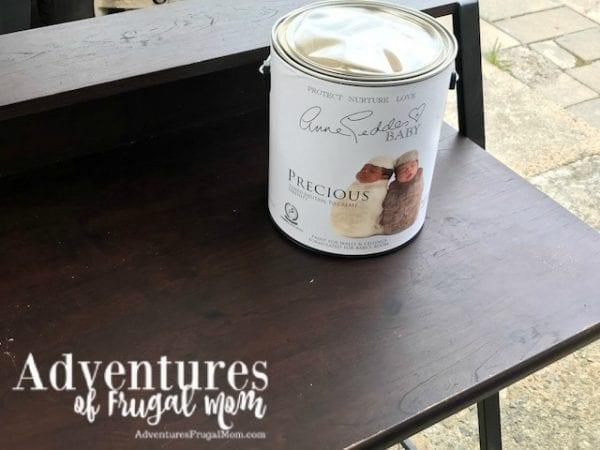 Anne Geddes Baby Nursery Paint DIY Bible Journaling Desk
