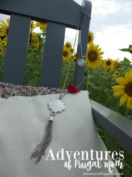 Thrift Store Chair in Sunflowers