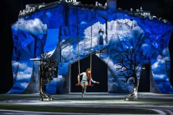 Crystal From Cirque du Soleil A Must See from North Carolina Lifestyle Blogger Adventures of Frugal Mom